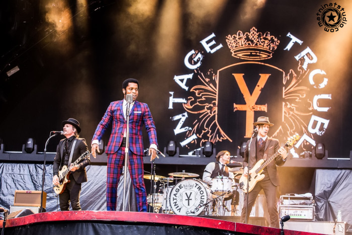 Vintage Trouble. Live @ Stade De France, Paris. Saturday, May 23rd 2015. Opening for AC/DC on the Rock or Bust world tour 2015. © Mat Ninat Studio