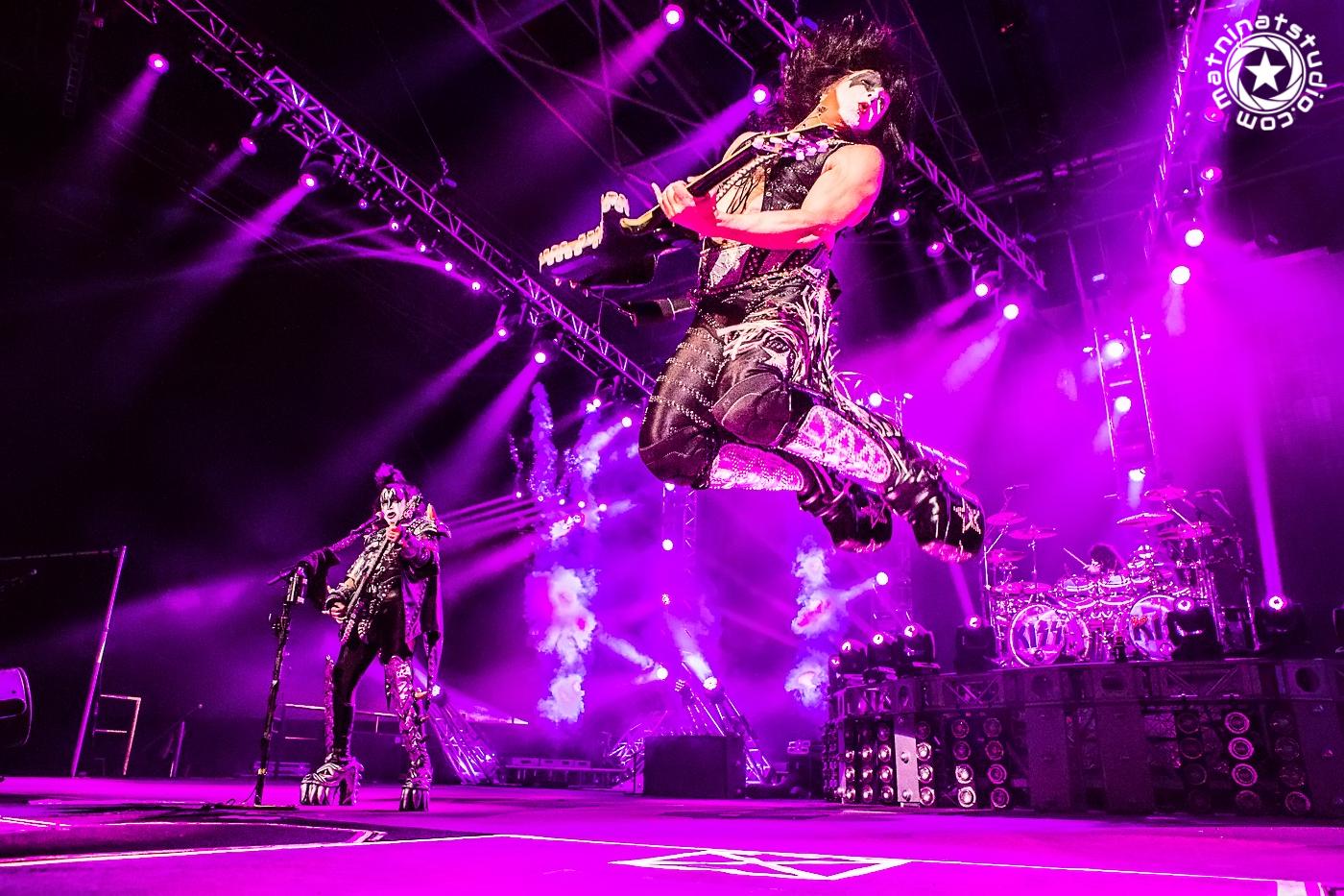 Kiss live @ Zénith Paris France. June 16th 2015. World Tour. Paul Stanley, Gene Simmons, Tommy Thayer, Eric Singer. © Mat Ninat Studio | Film & TV director | Photographer | Musician