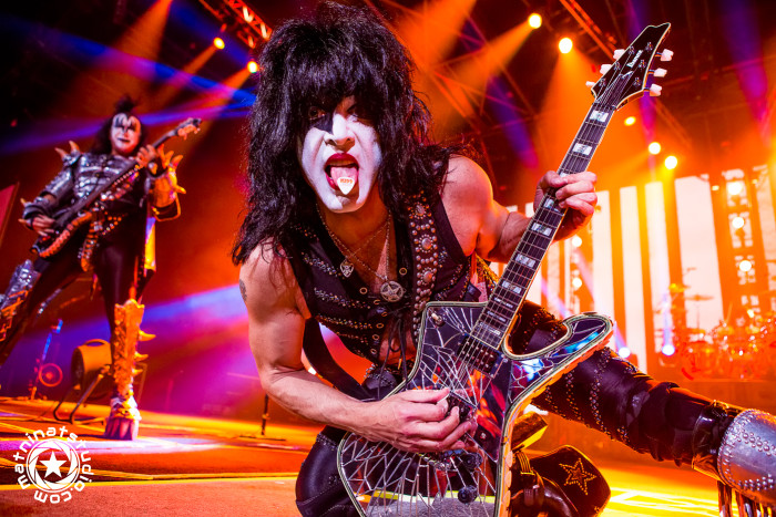 Kiss live @ Zénith Paris France. June 16th 2015. World Tour. Paul Stanley, Gene Simmons, Tommy Thayer, Eric Singer. © Mat Ninat Studio | Film & TV director | Photographer | Musician