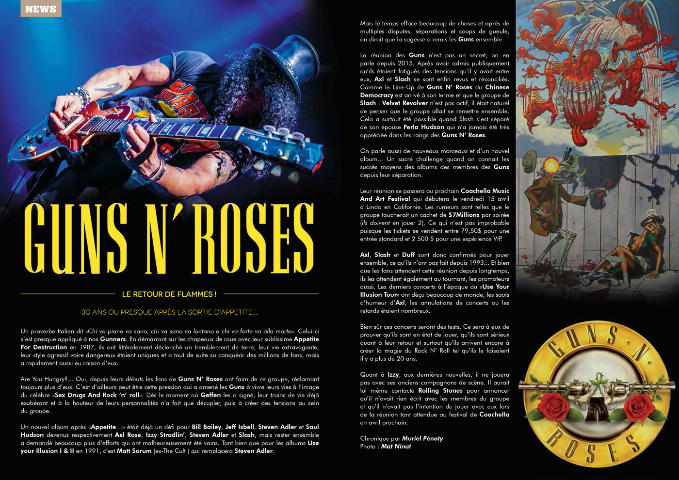 TV ROCK LIVE 9 | article | Slash photo by Mat Ninat