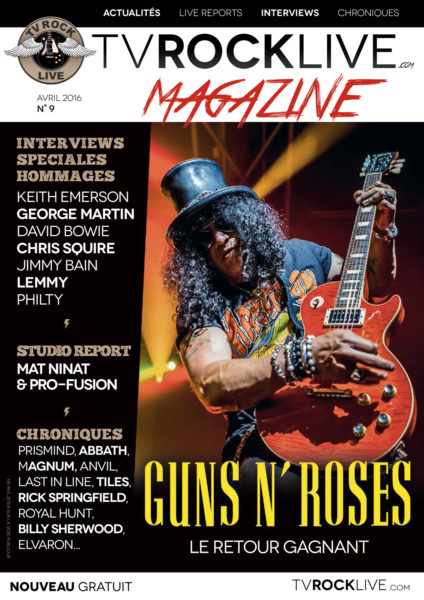 TV ROCK LIVE 9 | Cover | Slash photo by Mat Ninat