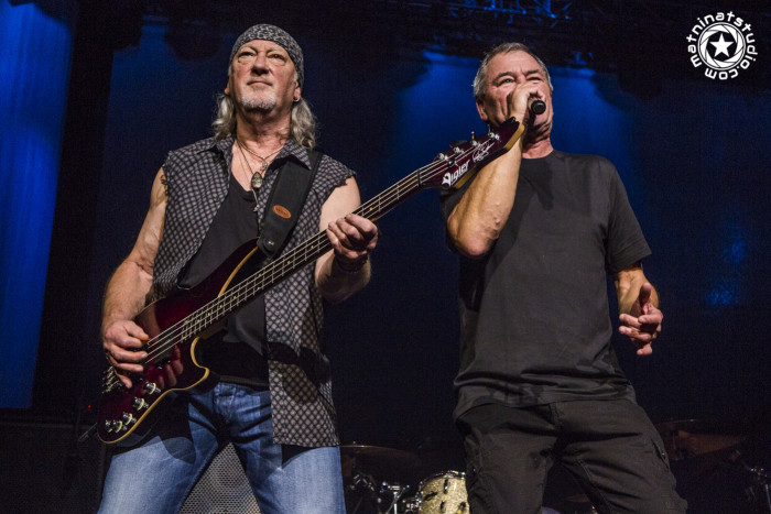 Deep Purple live @ Zénith de Paris, France. November 11th 2015. Ian Gillan : Vocals Ian Paice : Drums Roger Glover : Bass Steve Morse : Guitar Don Airey : Keyboards © Mat Ninat Studio