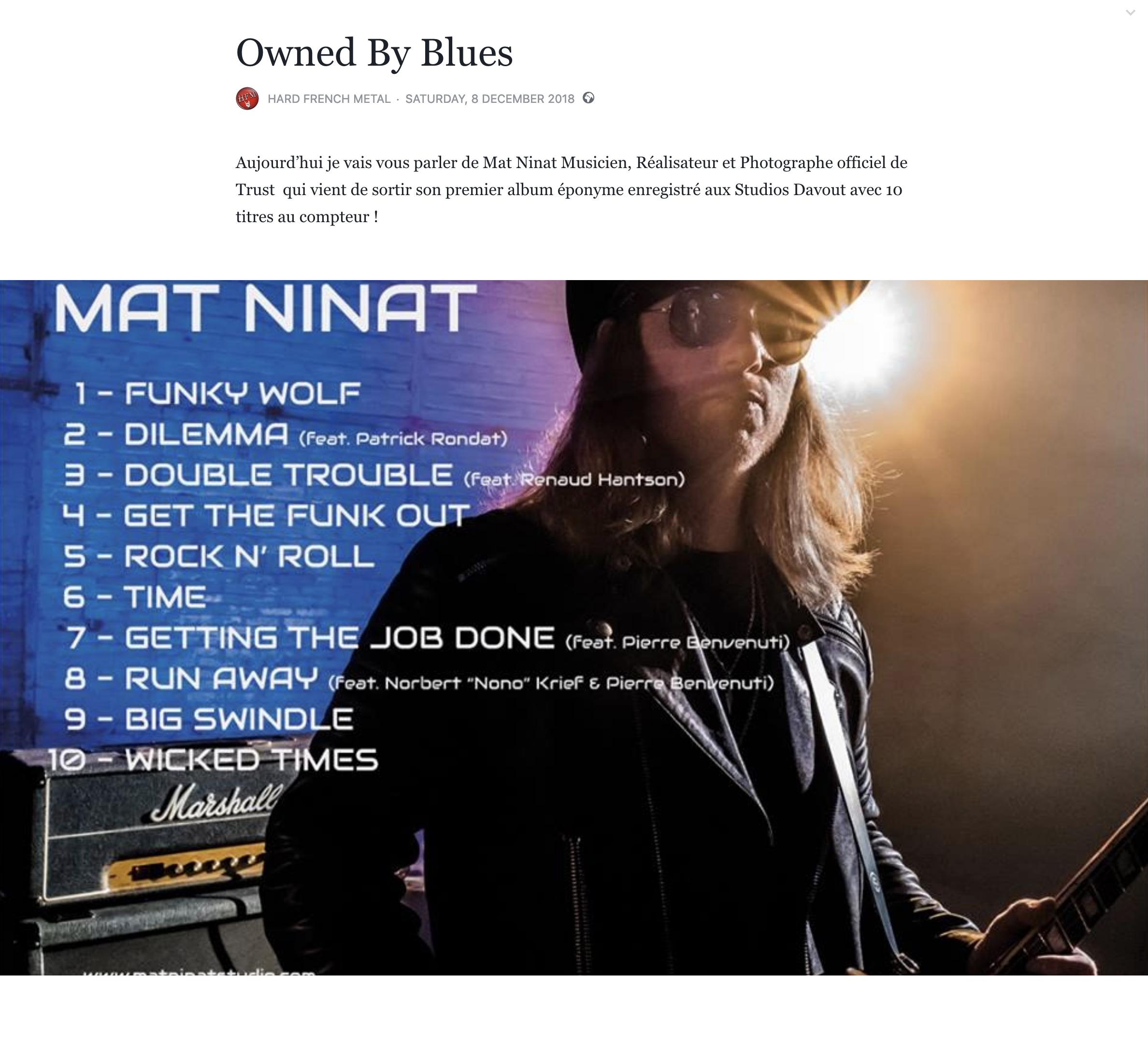 MAT NINAT HARD FRENCH METAL